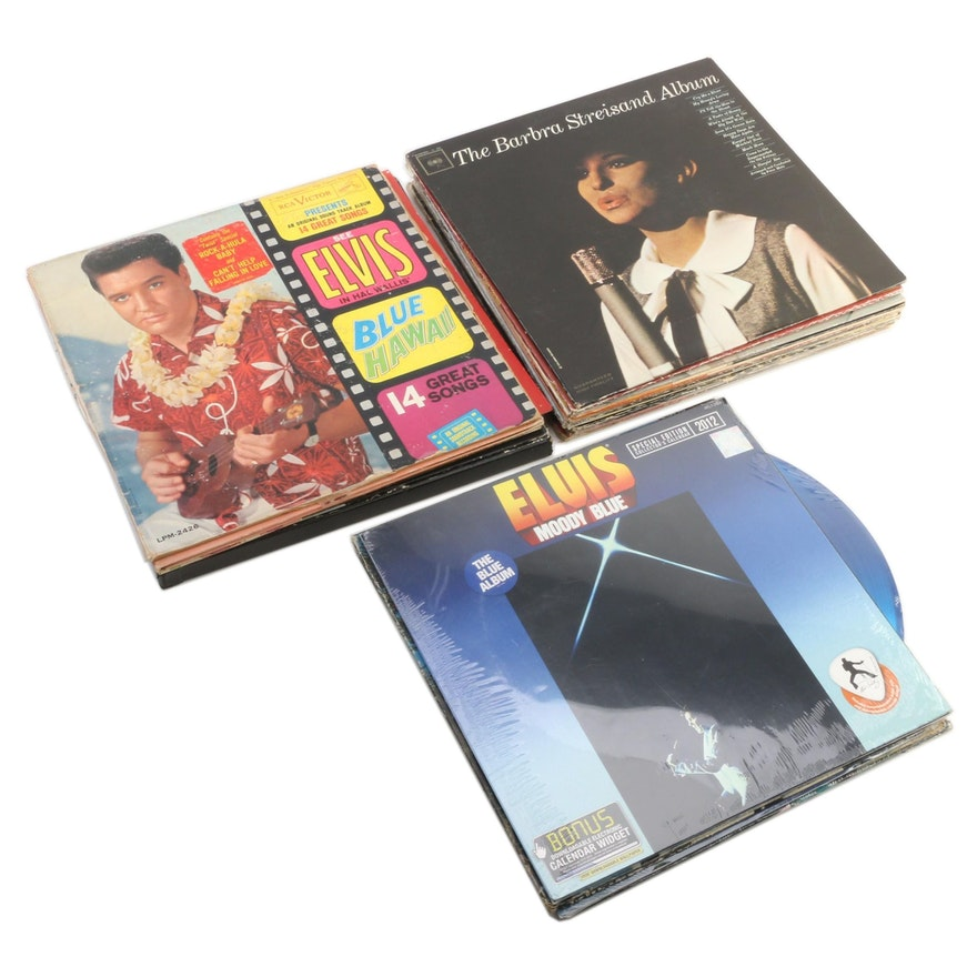 Elvis Presley, Christmas Music, Original Soundtracks and Other Vinyl Records