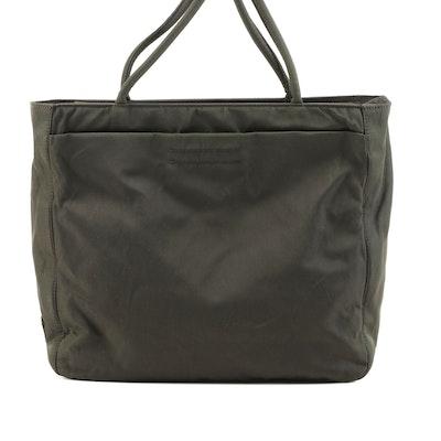 Prada City Shoulder Bag in Olive Nylon