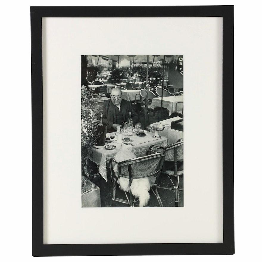 """Henri Cartier-Bresson Heliogravure """"Paris, On the Place du Tertre"""", 1955"""