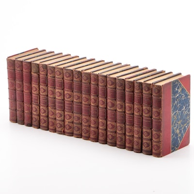 """""""The Complete Works of Nathaniel Hawthorne"""" Near Complete Set, 1884"""