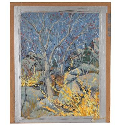 Joseph Di Gemma Landscape Oil Painting