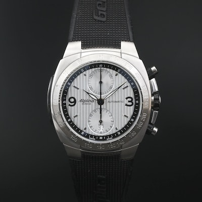 Alpina Avalanche Chronograph Stainless Steel Automatic Wristwatch