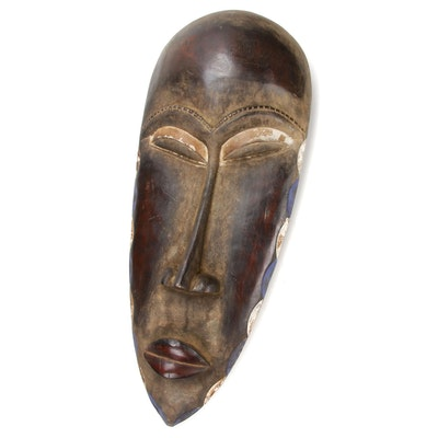 West African Decorative Elongated Mask