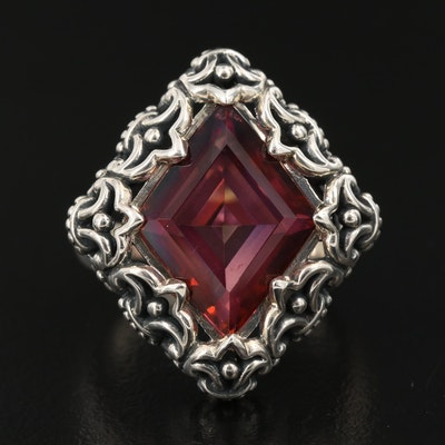 Sterling Silver Mystic Quartz Ring