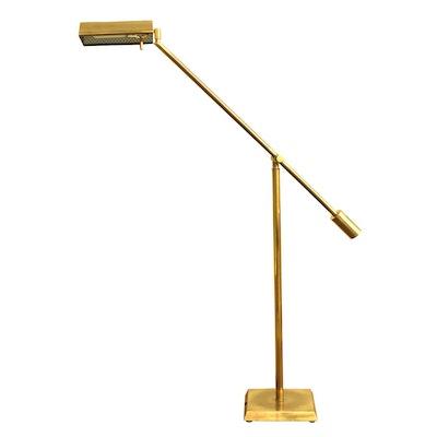 Frederick Cooper Mid Century Modern Brass Articulating Floor Lamp