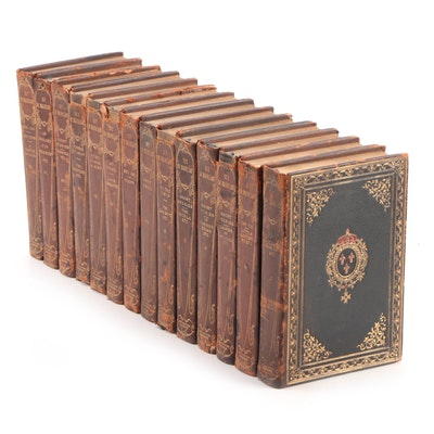 """Limited Edition """"The Works Guy de Maupassant"""" Near Complete Set, 1903"""