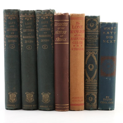 """Fiction and Nonfiction Including """"Life and Letters of Washington Irving"""" II–IV"""