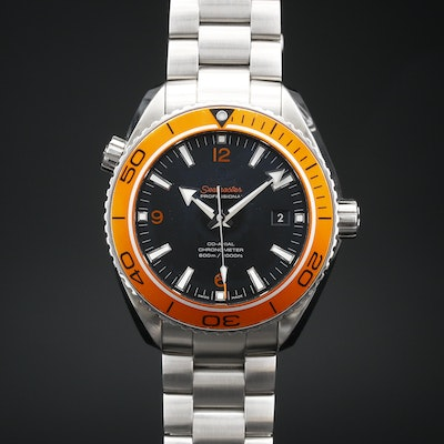 Omega Seamaster Planet Ocean 600M Co-Axial Stainless Steel Wristwatch