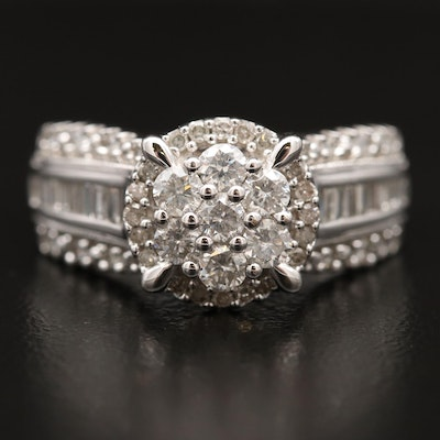 10K 1.08 CTW Diamond Ring