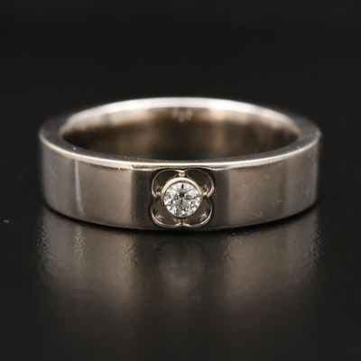 Hearts on Fire 18K Diamond Band