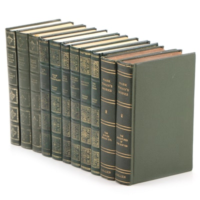 Charles Dickens, Thomas Hardy and Mark Twain Books, Early to Late 20th Century