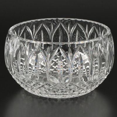 Crystal Centerpiece Bowl