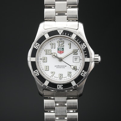 TAG Heuer 2000 Sport Stainless Steel Quartz Wristwatch