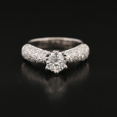 18K 1.28 CTW Diamond Ring