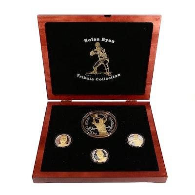 Nolan Ryan .999 Fine Silver Commemorative Medals, 1994