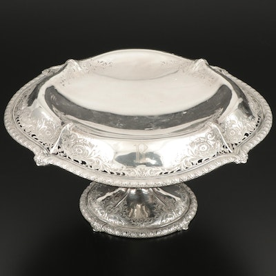 Dominick & Haff Edwardian Sterling Silver Centerpiece Bowl, Early 20th C.