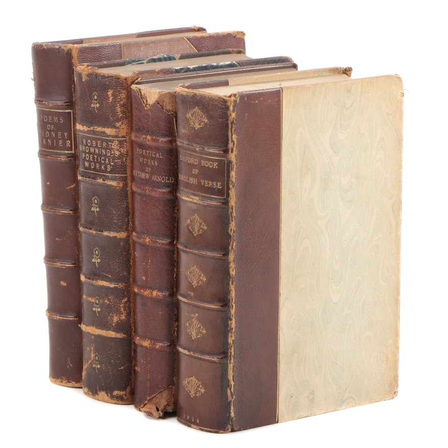 """""""The Oxford Book of English Verse, 1250–1900"""" with Other Poetry Anthologies"""