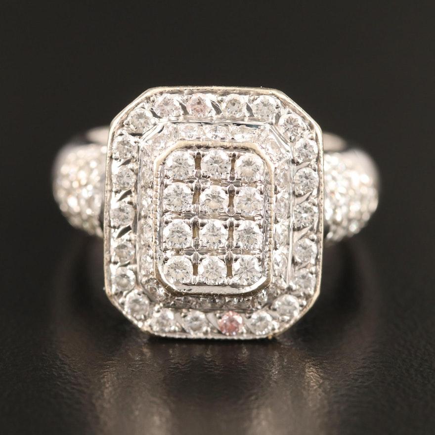 18K 1.43 CTW Diamond Ring