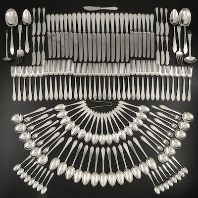 "Tiffany & Co. ""Faneuil"" Sterling Silver Flatware and Serving Utensils, 1910–1947"