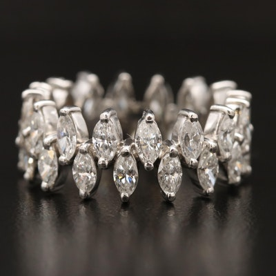 Platinum 4.00 CTW Diamond Eternity Ring