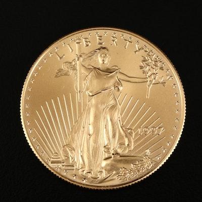 1997 One Ounce $50 American Eagle Gold Bullion Coin