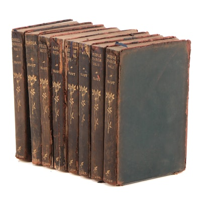 "George Eliot Collection Including ""Middlemarch"" and ""Romola,"" 1906"