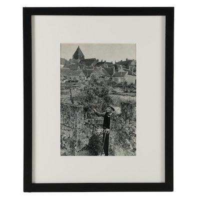 "Henri Cartier-Bresson Heliogravure ""Orchard in Touraine, Villandry"", 1955"