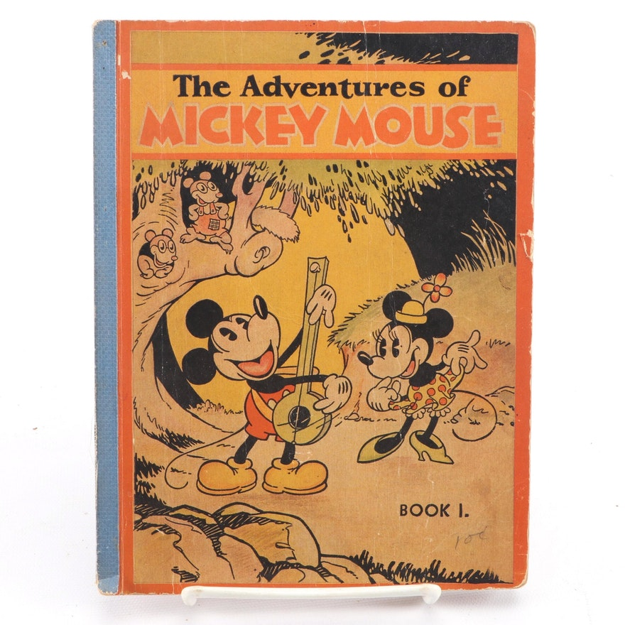 """""""The Adventures of Mickey Mouse: Book I"""" by the Walt Disney Studio, 1931"""