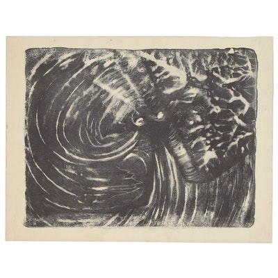 "Arthur Helwig Lithograph ""Spider"", 1972"