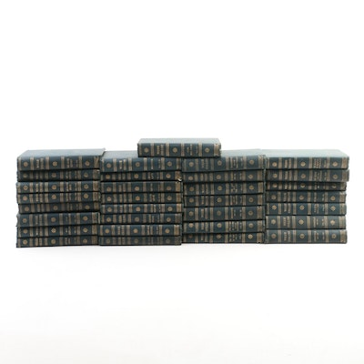 """""""The Works of Wilkie Collins"""" Complete Thirty-Volume Set, Early 20th Century"""