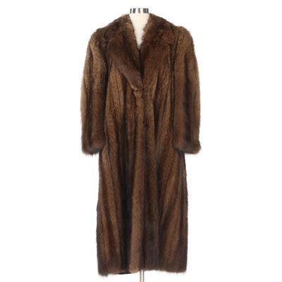 Fisher Fur Coat for Steven Corn Furs