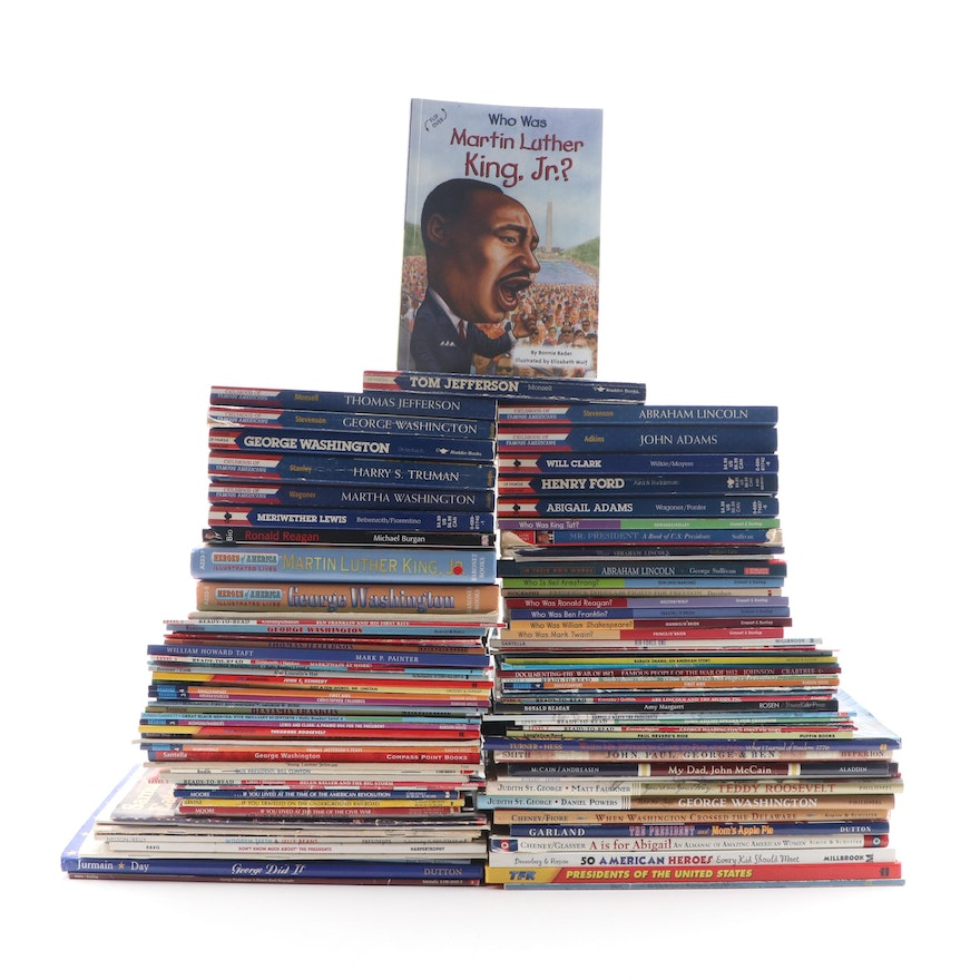 U.S. Presidential, and Other Historical Figures Educational Books