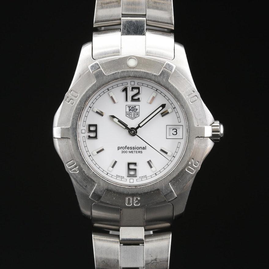 TAG Heuer 2000 Exclusive Stainless Steel Quartz Wristwatch