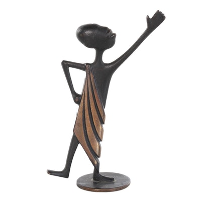 Karl Hagenauer Bronze Figurine, Early 20th Century
