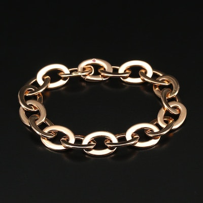 Roberto Coin 18K Cable Chain Bracelet