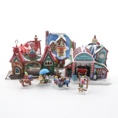 Department 56 North Pole Series Houses, Late 20th Century