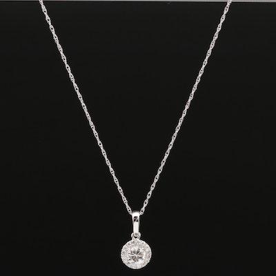 Natalie K. 18K Diamond Necklace