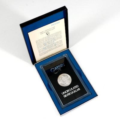 GSA 1883-CC Morgan Silver Dollar