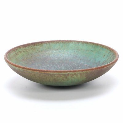 Suzanne Ramié Atelier Madoura Glazed Earthenware Bowl, Mid-20th Century