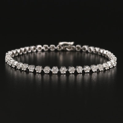 14K 1.85 CTW Diamond Link Bracelet