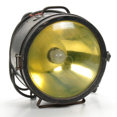 Crouse-Hinds Company Incandescent Headlight, Mid-20th Century