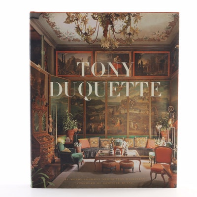 "First Edition, First Printing ""Tony Duquette"" by Goodman and Wilkinson, 2007"