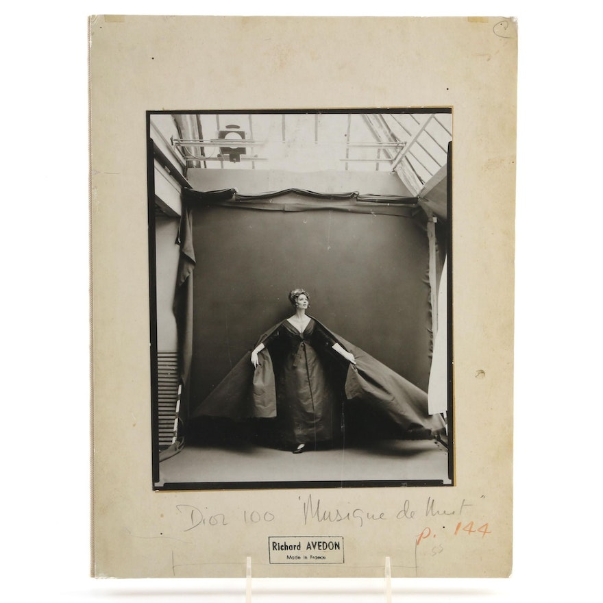 """Limited First Trade Edition """"Richard Avedon: Made in France"""" by J. Thurman, 2001"""