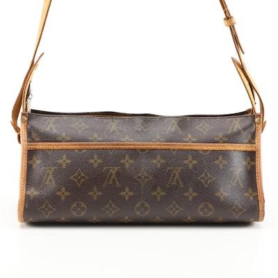 Refurbished Louis Vuitton Popincourt Bag in Monogram Canvas