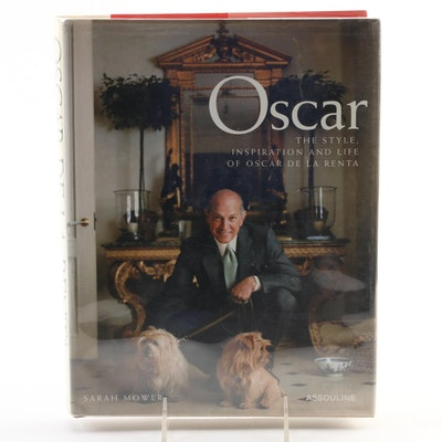 "First Editon ""Oscar: The Style, Inspiration and Life of Oscar de la Renta,"" 2002"