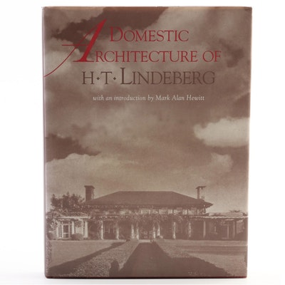 """Domestic Architecture of H. T. Lindeberg"" with Introduction by Hewitt, 1996"