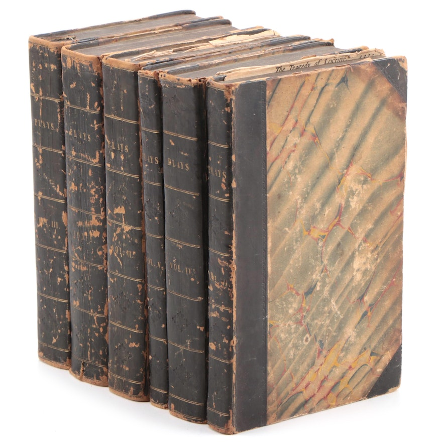 """First Illustrated Edition """"The Works of Mr. William Shakespear"""" Set, 1709"""