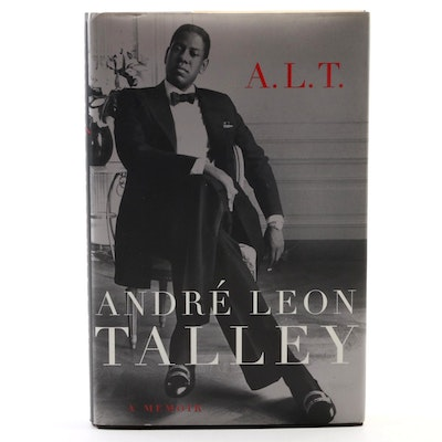 "First Edition ""A. L. T.: A Memoir"" by Talley with Candy Pratts Price Signed Card"
