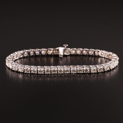 18K 8.26 CTW Diamond Tennis Bracelet