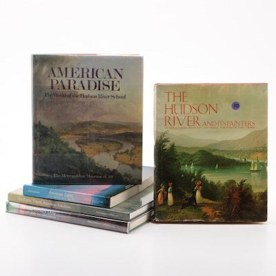"American Art Books Including ""The Hudson River and Its Painters"" by John Howat"